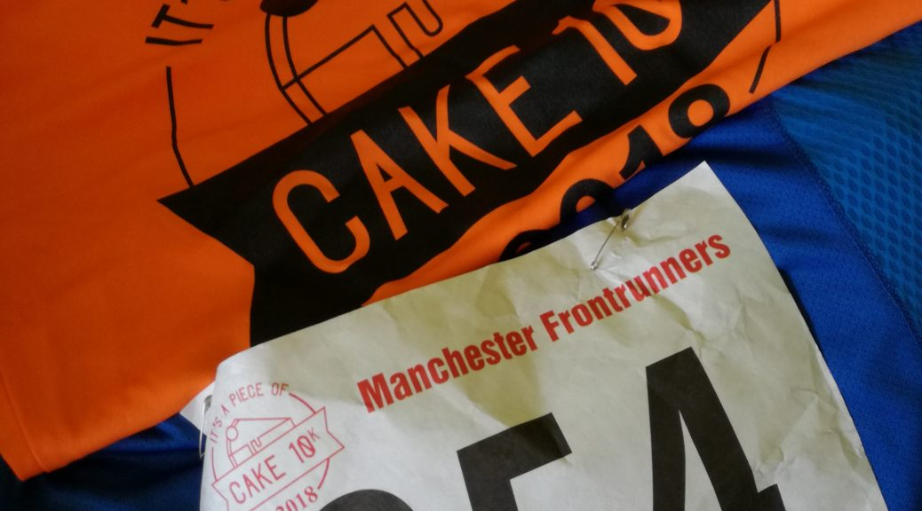 It's A Piece of Cake 10k Race Number